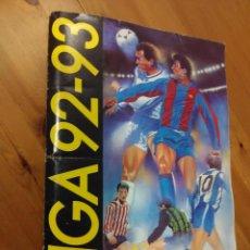 Álbum de fútbol completo: ALBUM LIGA EDICIONES ESTE 92-93 CON CROMOS DIFICILES VERSIÓN SERGI FICHAJE 26 DIFICIL.. Lote 114463651