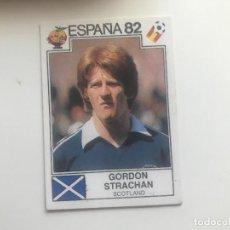 Álbum de fútbol completo: MUNDIAL WC ESPAÑA 82 - PANINI - 408 GORDON STRACHAN - ESCOCIA / SCOTLAND ( NUNCA PEGADO ). Lote 114805671