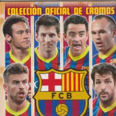 Álbum di calcio completo: FC BARCELONA 2013-2014. Lote 114863811