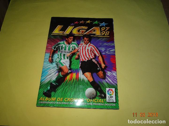 ANTIGUO ALBUM DE CROMOS LIGA 97-98 - CAMPEONATO NACIONAL DE LIGA 1997/ 1998 DE EDICIONES ESTE (Coleccionismo Deportivo - Álbumes y Cromos de Deportes - Álbumes de Fútbol Completos)