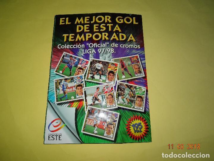Álbum de fútbol completo: Antiguo Album de Cromos LIGA 97-98 - Campeonato Nacional de Liga 1997/ 1998 de Ediciones ESTE - Foto 2 - 114946651