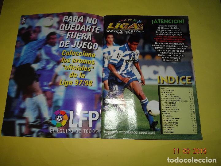 Álbum de fútbol completo: Antiguo Album de Cromos LIGA 97-98 - Campeonato Nacional de Liga 1997/ 1998 de Ediciones ESTE - Foto 25 - 114946651