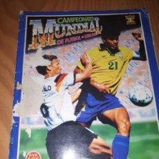 Álbum de fútbol completo: ÁLBUM EDICIONES ESTE MUNDIAL USA 94. Lote 133970487