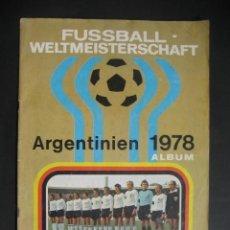 Álbum de fútbol completo: CAMPEONATOS MUNDIALES 1978 ALBUM MUNDIAL FUTBOL ARGENTINA 78 - COMPLETO, 384 CROMOS.. Lote 124627535