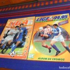 Álbum de fútbol completo: ESTE LIGA 1994 1995 94 95 Y 2010 2011 10 11 COMPLETO REGALO 08 09 INCOMPLETO, 24 CROMO SIN USO 97 98. Lote 115468115