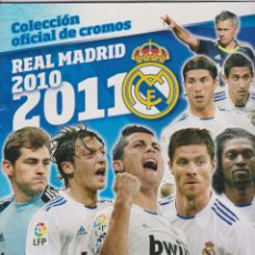 Album de football complet: REAL MADRID -- 2010-2011. Lote 116066083