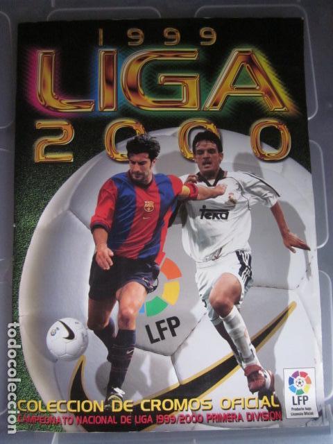 LIGA ESTE 99 00 1999 2000 COMPLETISIMA CON EL COLOCA JAVIER CLEMENTE EN VENTANILLA MIRAR FOTOGRAFIAS (Coleccionismo Deportivo - Álbumes y Cromos de Deportes - Álbumes de Fútbol Completos)