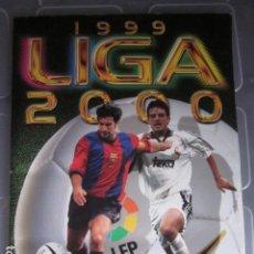 Álbum de fútbol completo: LIGA ESTE 99 00 1999 2000 COMPLETISIMA CON EL COLOCA JAVIER CLEMENTE EN VENTANILLA MIRAR FOTOGRAFIAS. Lote 116170559