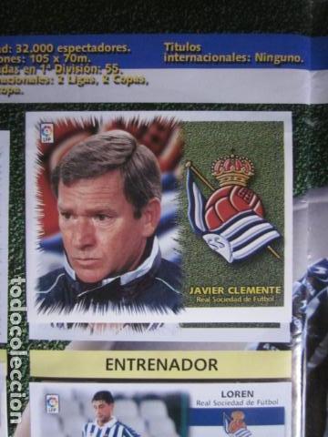 Álbum de fútbol completo: LIGA ESTE 99 00 1999 2000 COMPLETISIMA CON EL COLOCA JAVIER CLEMENTE EN VENTANILLA MIRAR FOTOGRAFIAS - Foto 2 - 116170559