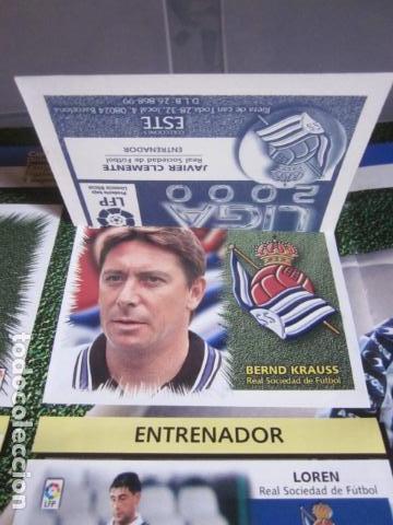 Álbum de fútbol completo: LIGA ESTE 99 00 1999 2000 COMPLETISIMA CON EL COLOCA JAVIER CLEMENTE EN VENTANILLA MIRAR FOTOGRAFIAS - Foto 4 - 116170559