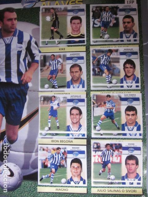 Álbum de fútbol completo: LIGA ESTE 99 00 1999 2000 COMPLETISIMA CON EL COLOCA JAVIER CLEMENTE EN VENTANILLA MIRAR FOTOGRAFIAS - Foto 6 - 116170559