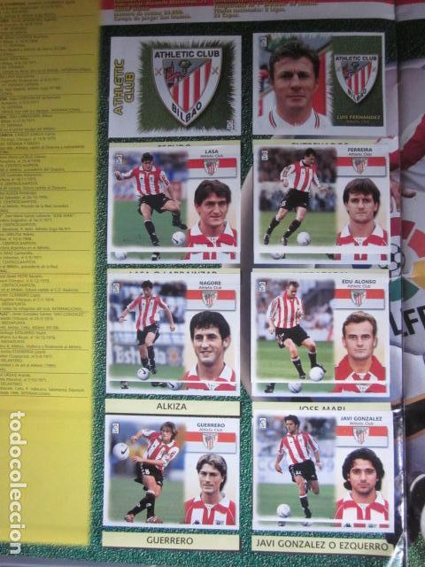 Álbum de fútbol completo: LIGA ESTE 99 00 1999 2000 COMPLETISIMA CON EL COLOCA JAVIER CLEMENTE EN VENTANILLA MIRAR FOTOGRAFIAS - Foto 7 - 116170559