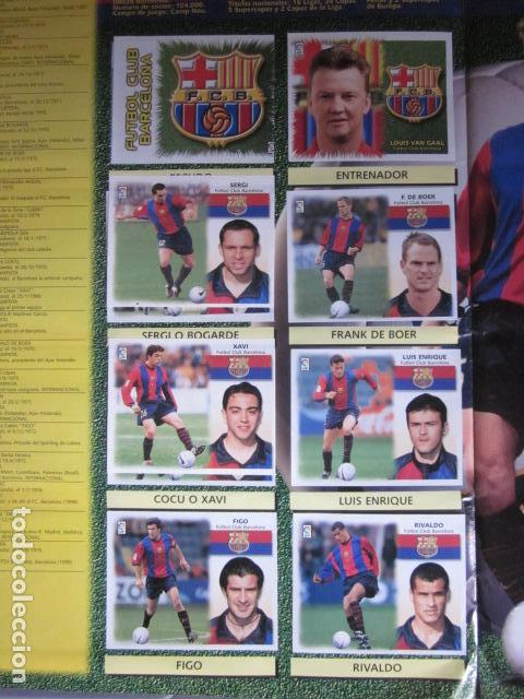 Álbum de fútbol completo: LIGA ESTE 99 00 1999 2000 COMPLETISIMA CON EL COLOCA JAVIER CLEMENTE EN VENTANILLA MIRAR FOTOGRAFIAS - Foto 9 - 116170559