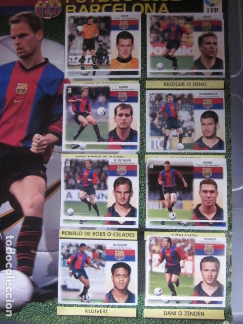 Álbum de fútbol completo: LIGA ESTE 99 00 1999 2000 COMPLETISIMA CON EL COLOCA JAVIER CLEMENTE EN VENTANILLA MIRAR FOTOGRAFIAS - Foto 10 - 116170559