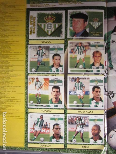 Álbum de fútbol completo: LIGA ESTE 99 00 1999 2000 COMPLETISIMA CON EL COLOCA JAVIER CLEMENTE EN VENTANILLA MIRAR FOTOGRAFIAS - Foto 11 - 116170559