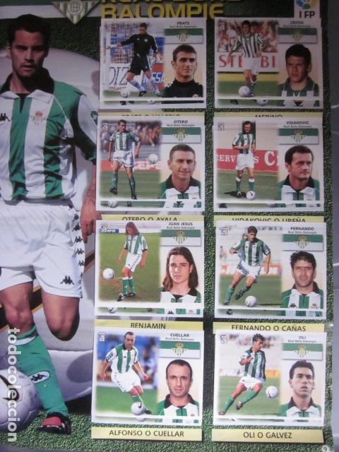 Álbum de fútbol completo: LIGA ESTE 99 00 1999 2000 COMPLETISIMA CON EL COLOCA JAVIER CLEMENTE EN VENTANILLA MIRAR FOTOGRAFIAS - Foto 12 - 116170559