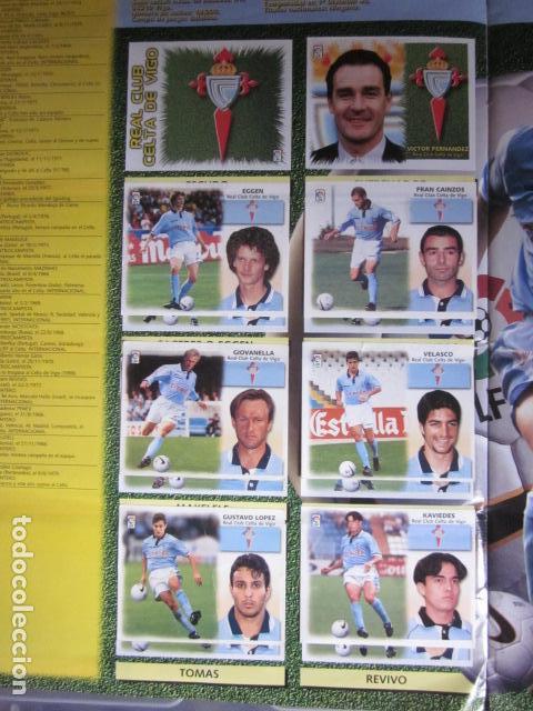 Álbum de fútbol completo: LIGA ESTE 99 00 1999 2000 COMPLETISIMA CON EL COLOCA JAVIER CLEMENTE EN VENTANILLA MIRAR FOTOGRAFIAS - Foto 13 - 116170559