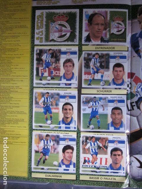 Álbum de fútbol completo: LIGA ESTE 99 00 1999 2000 COMPLETISIMA CON EL COLOCA JAVIER CLEMENTE EN VENTANILLA MIRAR FOTOGRAFIAS - Foto 15 - 116170559