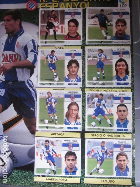 Álbum de fútbol completo: LIGA ESTE 99 00 1999 2000 COMPLETISIMA CON EL COLOCA JAVIER CLEMENTE EN VENTANILLA MIRAR FOTOGRAFIAS - Foto 18 - 116170559