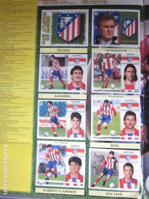 Álbum de fútbol completo: LIGA ESTE 99 00 1999 2000 COMPLETISIMA CON EL COLOCA JAVIER CLEMENTE EN VENTANILLA MIRAR FOTOGRAFIAS - Foto 19 - 116170559