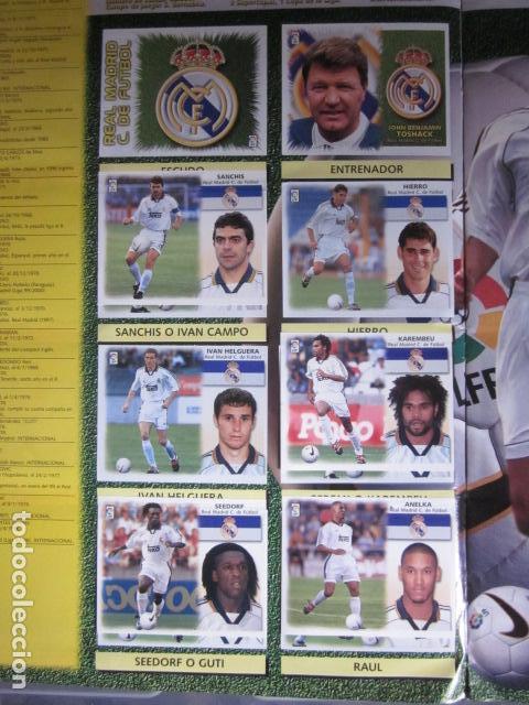 Álbum de fútbol completo: LIGA ESTE 99 00 1999 2000 COMPLETISIMA CON EL COLOCA JAVIER CLEMENTE EN VENTANILLA MIRAR FOTOGRAFIAS - Foto 21 - 116170559