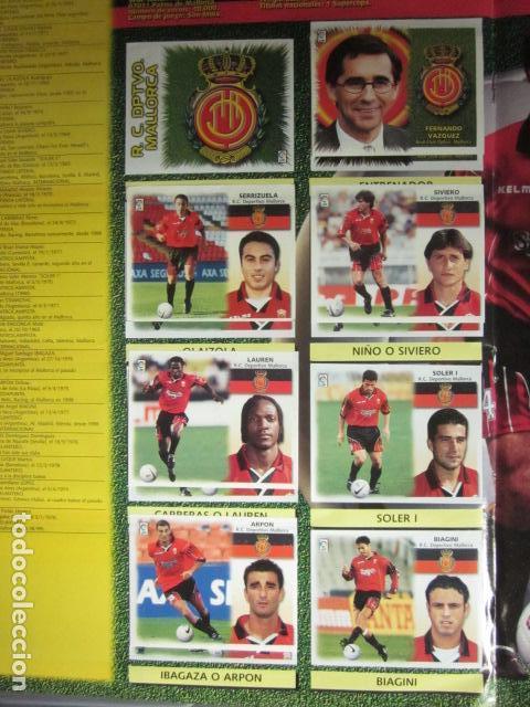 Álbum de fútbol completo: LIGA ESTE 99 00 1999 2000 COMPLETISIMA CON EL COLOCA JAVIER CLEMENTE EN VENTANILLA MIRAR FOTOGRAFIAS - Foto 25 - 116170559