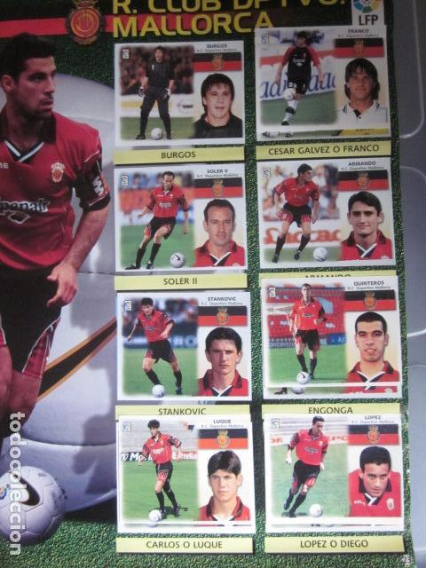 Álbum de fútbol completo: LIGA ESTE 99 00 1999 2000 COMPLETISIMA CON EL COLOCA JAVIER CLEMENTE EN VENTANILLA MIRAR FOTOGRAFIAS - Foto 26 - 116170559