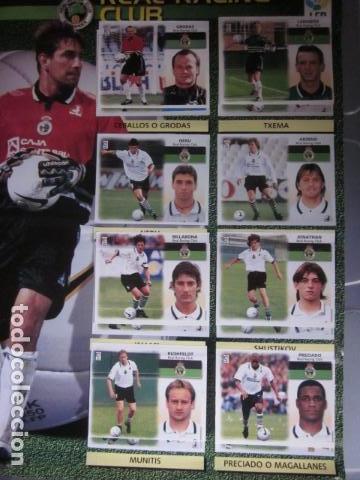 Álbum de fútbol completo: LIGA ESTE 99 00 1999 2000 COMPLETISIMA CON EL COLOCA JAVIER CLEMENTE EN VENTANILLA MIRAR FOTOGRAFIAS - Foto 32 - 116170559