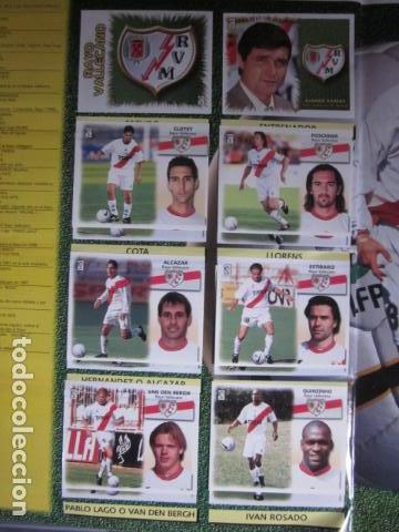 Álbum de fútbol completo: LIGA ESTE 99 00 1999 2000 COMPLETISIMA CON EL COLOCA JAVIER CLEMENTE EN VENTANILLA MIRAR FOTOGRAFIAS - Foto 33 - 116170559