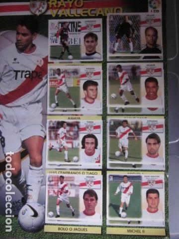 Álbum de fútbol completo: LIGA ESTE 99 00 1999 2000 COMPLETISIMA CON EL COLOCA JAVIER CLEMENTE EN VENTANILLA MIRAR FOTOGRAFIAS - Foto 34 - 116170559