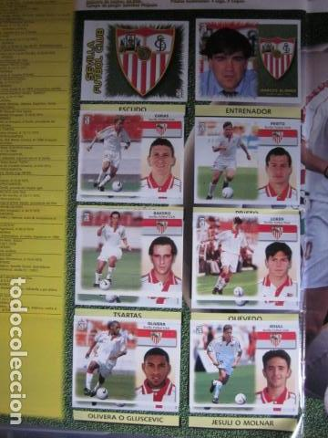 Álbum de fútbol completo: LIGA ESTE 99 00 1999 2000 COMPLETISIMA CON EL COLOCA JAVIER CLEMENTE EN VENTANILLA MIRAR FOTOGRAFIAS - Foto 35 - 116170559