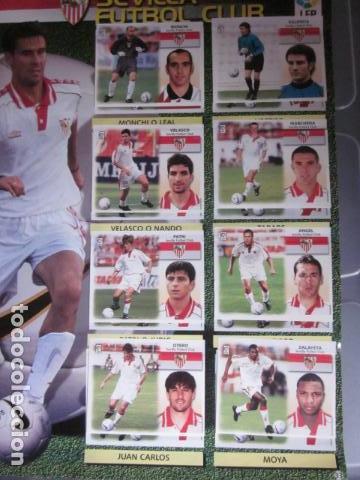 Álbum de fútbol completo: LIGA ESTE 99 00 1999 2000 COMPLETISIMA CON EL COLOCA JAVIER CLEMENTE EN VENTANILLA MIRAR FOTOGRAFIAS - Foto 36 - 116170559