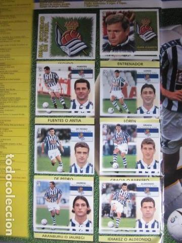 Álbum de fútbol completo: LIGA ESTE 99 00 1999 2000 COMPLETISIMA CON EL COLOCA JAVIER CLEMENTE EN VENTANILLA MIRAR FOTOGRAFIAS - Foto 37 - 116170559
