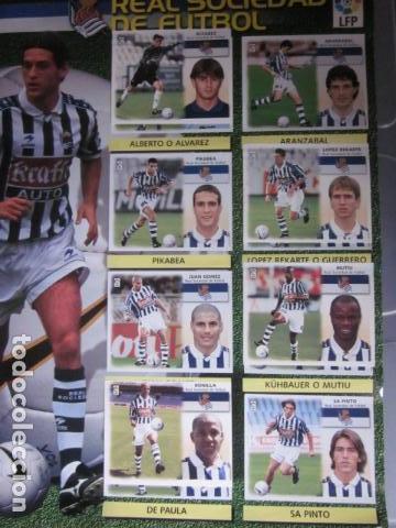 Álbum de fútbol completo: LIGA ESTE 99 00 1999 2000 COMPLETISIMA CON EL COLOCA JAVIER CLEMENTE EN VENTANILLA MIRAR FOTOGRAFIAS - Foto 38 - 116170559