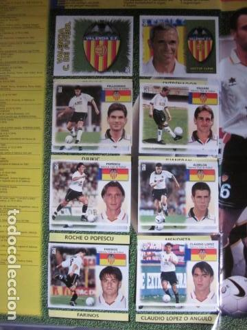 Álbum de fútbol completo: LIGA ESTE 99 00 1999 2000 COMPLETISIMA CON EL COLOCA JAVIER CLEMENTE EN VENTANILLA MIRAR FOTOGRAFIAS - Foto 39 - 116170559