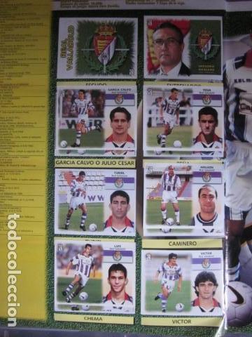 Álbum de fútbol completo: LIGA ESTE 99 00 1999 2000 COMPLETISIMA CON EL COLOCA JAVIER CLEMENTE EN VENTANILLA MIRAR FOTOGRAFIAS - Foto 41 - 116170559