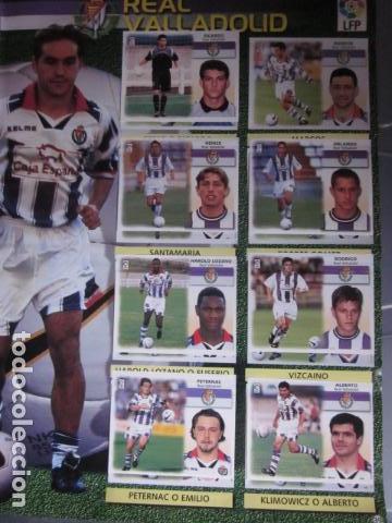 Álbum de fútbol completo: LIGA ESTE 99 00 1999 2000 COMPLETISIMA CON EL COLOCA JAVIER CLEMENTE EN VENTANILLA MIRAR FOTOGRAFIAS - Foto 42 - 116170559
