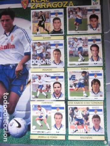 Álbum de fútbol completo: LIGA ESTE 99 00 1999 2000 COMPLETISIMA CON EL COLOCA JAVIER CLEMENTE EN VENTANILLA MIRAR FOTOGRAFIAS - Foto 44 - 116170559