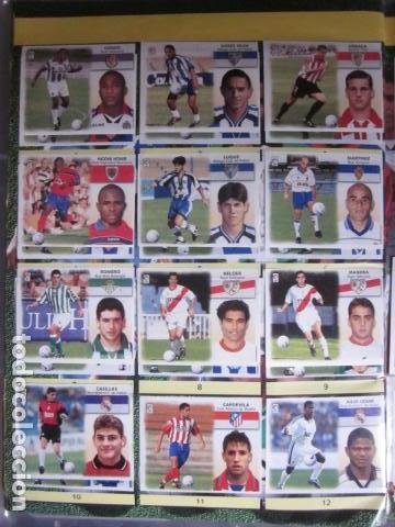 Álbum de fútbol completo: LIGA ESTE 99 00 1999 2000 COMPLETISIMA CON EL COLOCA JAVIER CLEMENTE EN VENTANILLA MIRAR FOTOGRAFIAS - Foto 45 - 116170559