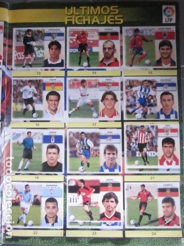 Álbum de fútbol completo: LIGA ESTE 99 00 1999 2000 COMPLETISIMA CON EL COLOCA JAVIER CLEMENTE EN VENTANILLA MIRAR FOTOGRAFIAS - Foto 46 - 116170559