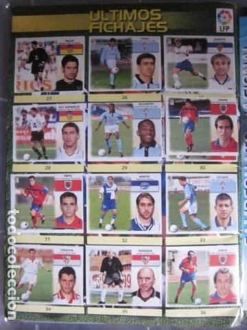 Álbum de fútbol completo: LIGA ESTE 99 00 1999 2000 COMPLETISIMA CON EL COLOCA JAVIER CLEMENTE EN VENTANILLA MIRAR FOTOGRAFIAS - Foto 47 - 116170559