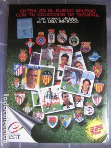 Álbum de fútbol completo: LIGA ESTE 99 00 1999 2000 COMPLETISIMA CON EL COLOCA JAVIER CLEMENTE EN VENTANILLA MIRAR FOTOGRAFIAS - Foto 48 - 116170559