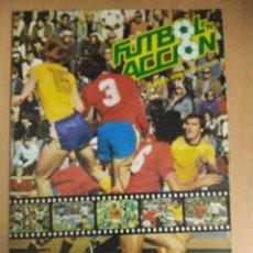 Álbum de fútbol completo: ALBUM FUTBOL EN ACCION 82 DANONE - COMPLETO. Lote 116199775
