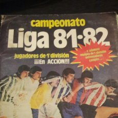 Álbum de fútbol completo: ÁLBUM ESTE 81-82 COMPLETO. Lote 116271723