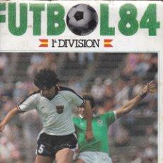 Álbum de fútbol completo: 9771 -ALBUM COMPLETO FUTBOL 84 CROMOS CANO + 66 CROMOS DOBLES. Lote 116279351