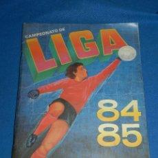 Álbum de fútbol completo: ALBUM CAMPEONATO LIGA 84 85 1 DIVISION , EDC CANO COMPLETO , 394 CROMOS, MUCHOS COLOCAS. Lote 116550087