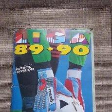 Álbum de fútbol completo: ALBUM COMPLETO LIGA ESTE 89 90 1989 1990 CON TODOS LOS DIFICILES Y PRACTICAMENTE TODO LO EDITADO. Lote 82503336