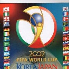 Álbum de fútbol completo: PANINI COPA DEL MUNDO KOREA JAPON 2002 REPRODUCCION ALBUM CROMOS COMPLETO IMPECABLE. Lote 116721783