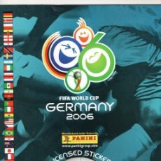 Álbum de fútbol completo: PANINI COPA DEL MUNDO ALEMANIA 2006 REPRODUCCION ALBUM CROMOS COMPLETO IMPECABLE. Lote 116725719