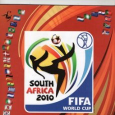 Álbum de fútbol completo: PANINI COPA DEL MUNDO SUDAFRICA 2010 REPRODUCCION ALBUM CROMOS COMPLETO IMPECABLE. Lote 116733447